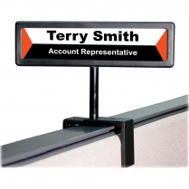 SIGN CUBICLE PEOPLE POINTER
