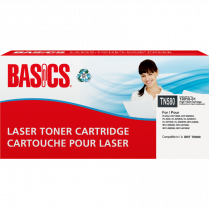 LASER CART BASICS TN580 HIGH YIELD BLACK EQUIV TO BRT