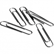 PAPER CLIPS 1 BAS 10BOXES/PACK 10 BOXES OF 100