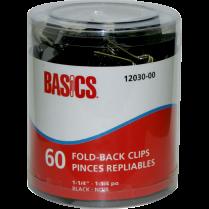 "FOLDBACK CLIPS BAS 1-1 4"" 60TB"