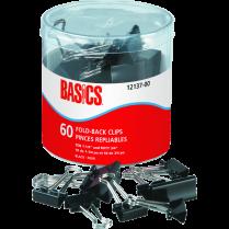 FOLDBACK CLIPS BASICS ASSORTED 60T
