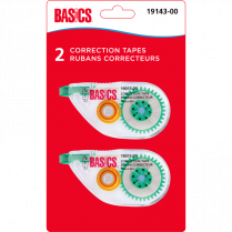 CORRECTION TAPE BASICS 2/PKG 1-LINE