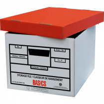 STORAGE BOX BASICS 6/PACK RECYCLED 2PC