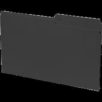 FILE FOLDER LEGAL 100/BOX BLACK 24007-01