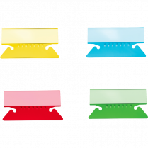 TABS FLEX 2IN ASSORTED 25/PACK BASICS