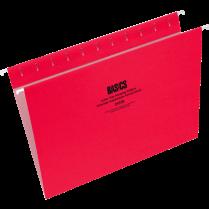 HANGING FOLDER LETTER RED 25/BOX 24105-03 91810