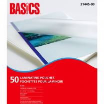 LAM POUCH BASICS 3MIL LETTER 50/PACK