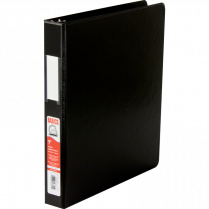 BINDER D-RING 1IN BLACK BASICS 35110-01 EXV222