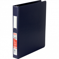 BINDER D-RING 1IN BLUE BASICS 35110-02 EXV247