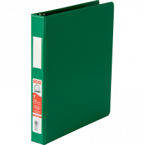 BINDER D-RING 1IN GREEN BASICS 35110-04
