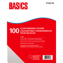 BINDING COVER BASICS TT 100SH/BOX