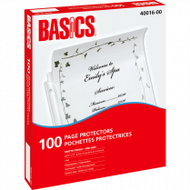 PAGE PROTECT HEAVY BASICS 100/BOX 3MIL MATTE