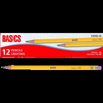 PENCIL WOOD HB BASICS 12/BOX
