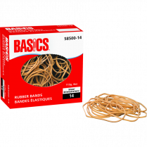 RUBBER BANDS 14 1/4LB BOX BAS