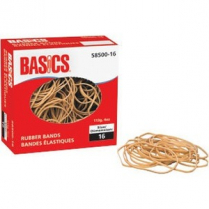 RUBBER BANDS 16 1/4LB BOX BAS