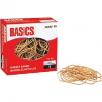 RUBBER BANDS 19 1/4LB BOX BAS
