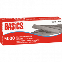 STAPLES BASICS STNDRD 5000/BOX