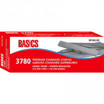 "STAPLES BASICS 1/4"" 3780/BOX"