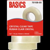 "TAPE BASICS 1/2"" REFILL CLEAR CRYSTAL 70108-00"