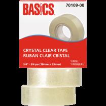 "TAPE BASICS 3/4"" REFILL CLEAR CRYSTAL 70109-00"