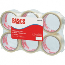 PACKING TAPE BASICS 36/CS 48MM X 50M 70120-00