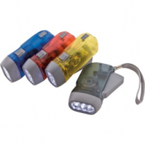 FLASHLIGHT EASY SQUEEZE ASSORTED
