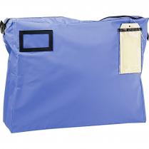 "MAIL BAG 14x18x4"" GUSSET BLUE"