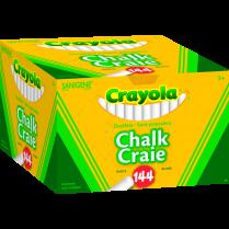CHALK WHITE DUSTLESS 144/BOX