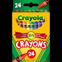 CRAYONS CRAYOLA 24/PACK