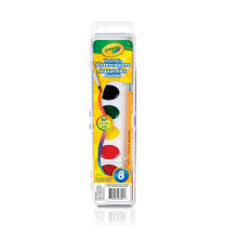 WATERCOLOUR CRAYOLA WASH 8/SET