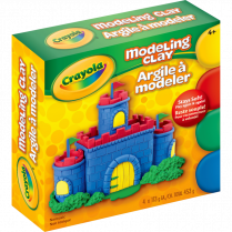 MODELLING CLAY CRAYOLA ASSORTED 4P 4x113.25 G