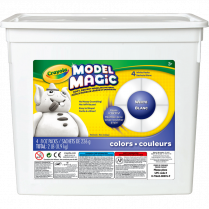 CRAYOLA MODEL MAGIC 4x225 G/TUB WHITE