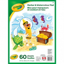 MARKER WATERCOLOUR PAD 60SH