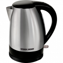 B&D CORDLESS KETTLE 1.7L STAINLESS STEEL