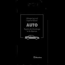 AUTO RECORD BLACK 6.13x3.75 104P