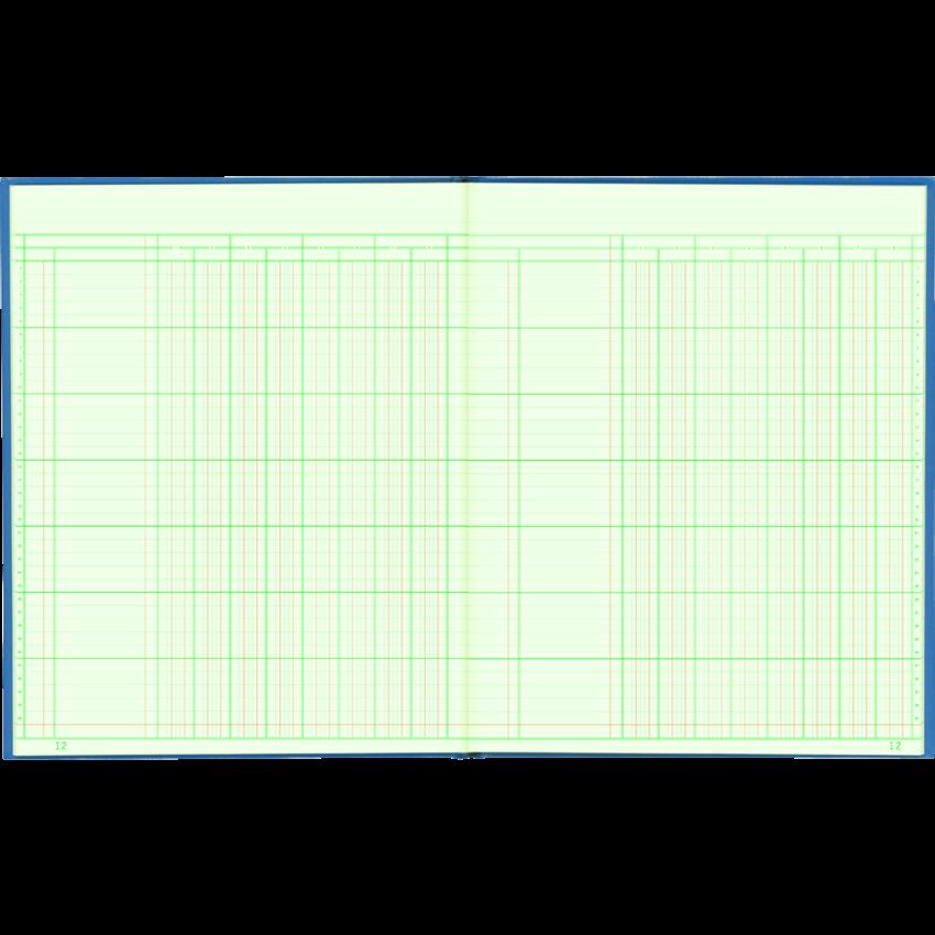 COLUMNAR BOOK 12x10 8COL 80PG