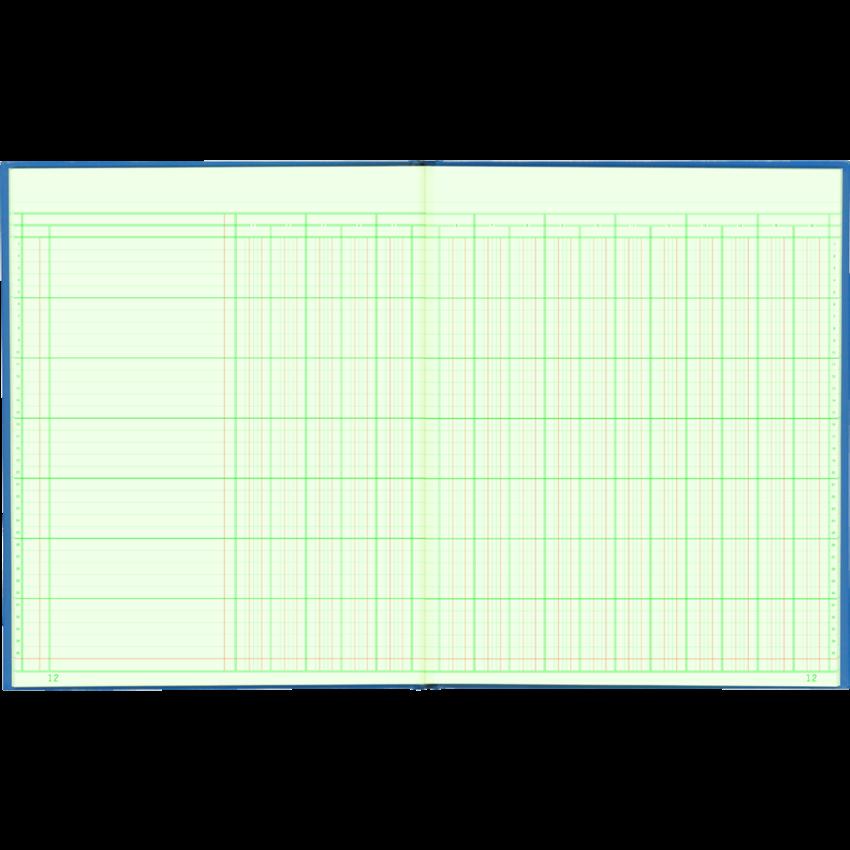 COLUMNAR BOOK 12x10 16COL 80PG