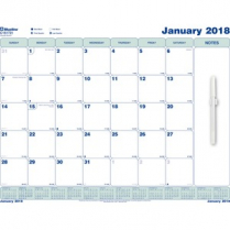 WALL CALENDAR MONTHLY 17x22 WRITE-ON STATIC CLING ENGLISH