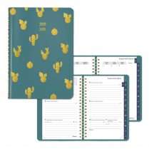 WEEK/MONTH PLANNER CACTUS 8x5 GREEN VICUANA