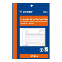PURCHASE ORDER BOOK 2PT 5x8 BILINGUAL