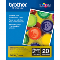 BROTHER PREMIUM PHOTO PAPER 8.5 X 11 20 SHEETS