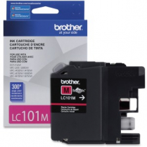 INK CARTRIDGE BRO LC101 MAGENTA LC101MS 300PG YIELD