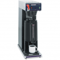 THERMAL SERVER COFFEE BREWER STAINLESS STEEL BUNN