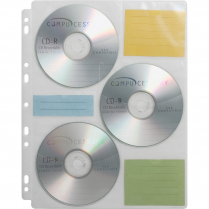 PAGE STORAGE CD 25/PACK