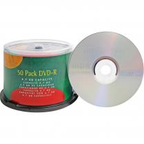 DVD-R 4.7GB 50PK