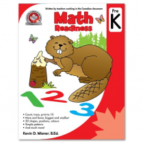 MATH READINESS PRE K WORKBOOK