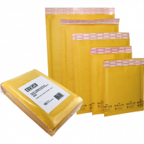 CUSHIONED MAILERS 1 10/PK 7.25x12 EDGE EDGBM005