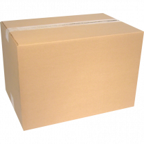 "SHIPPING BOX 14""x4""x10"" CORRUGATED CROWNHILL KRAFT"