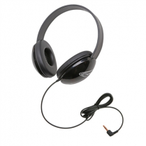 LISTENING 1ST HEADPHONES BLACK 2800BKP L3650-01