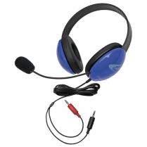 LISTENING 1ST HEADSET W/ DUAL 3.5mm PLUG 2800BLAV L0192-02